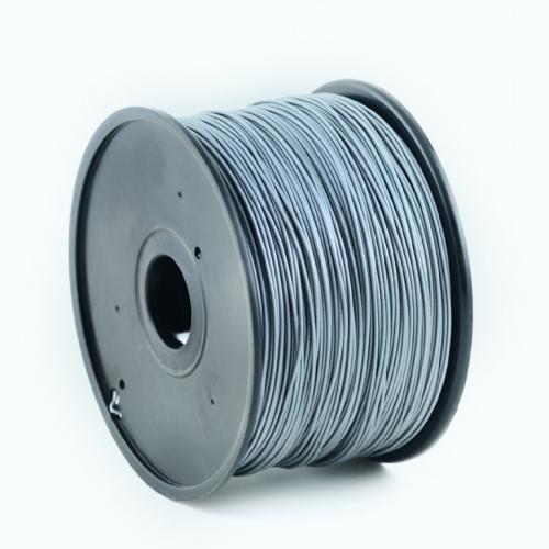 Filament PLA, 1.75mm, 1kg, Zilver, Gembird