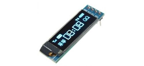 OLED Display 0,91 inch 128x32 Blue