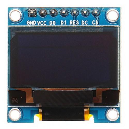 OLED Display 0,96 inch 128x64 Blauw/Geel I2C/SPI