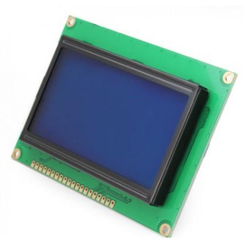 LCD-Display 128x64 Blue / Backlight Grapics/Symbols/Fonts