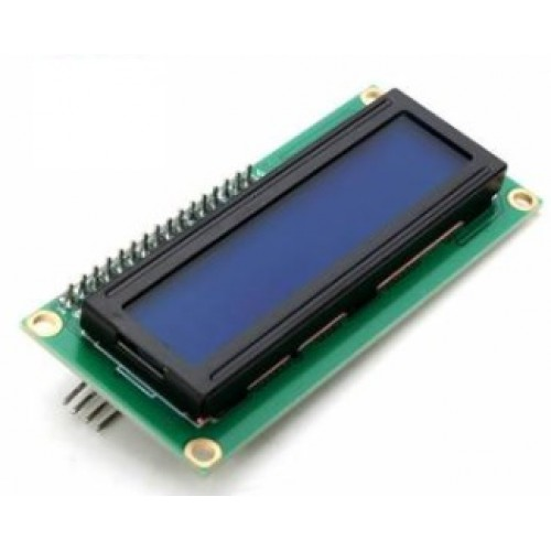 LCD-Display 16x2 Blue / Backlight I2C
