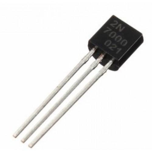 Transistors - Mosfet - 2N7000 (0,2A / 60V) - 10 stuks