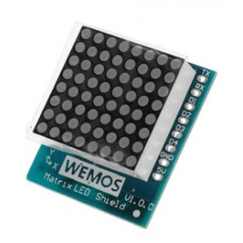 D1 Mini - Matrix LED Shield 8x8