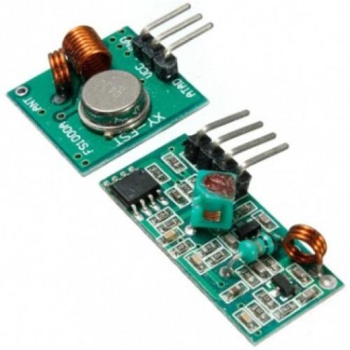 Draadloze zender en ontvanger 433MHz voor Arduino