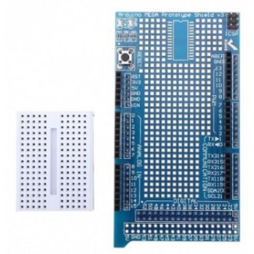 Arduino Prototype Shield Mega incl. Mini Breadboard