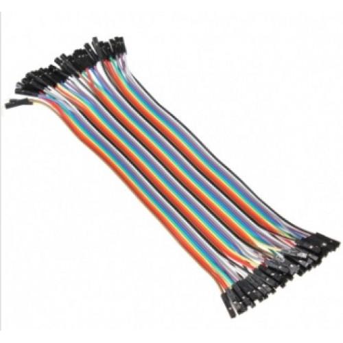 Jumper Kabel 40 polig F/F - 20 CM (voor Arduino)