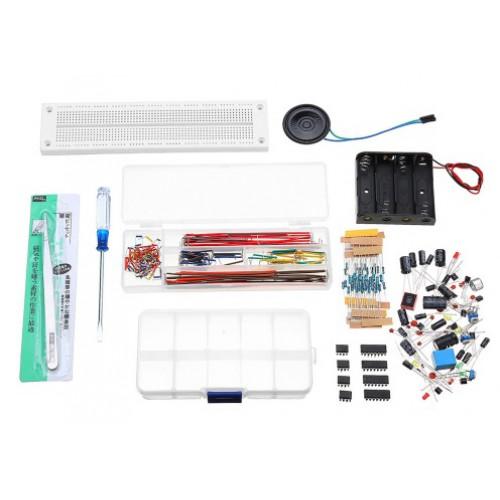 Starterkit Elektronica NE555, Logische IC's, Breadboard, Componenten