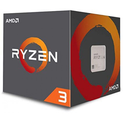 AMD Ryzen 3 - 2200G, Quad Core, 3,7GHz, S-AM4