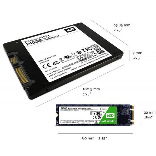 SSD 240GB Western Digital WD Green M.2 (2280)