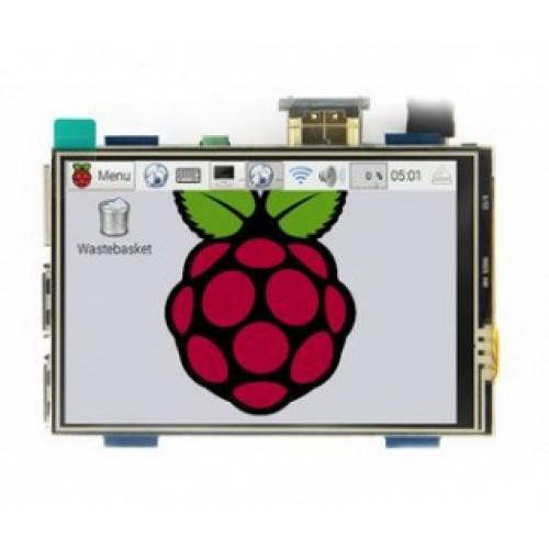 "Kleurendisplay 3.5"" met USB-Touch en HDMI - MPI3508"