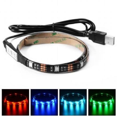 RGB LED Strip Kleur Gembird LED-SU-RGB30-01