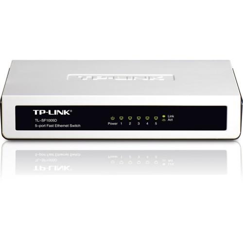 Netwerk Switch 10/100 Mbps - 5 Poorten TP-Link TL_SF1005D