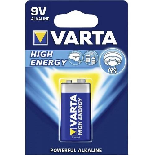 Batterij Varta E-Block 9 Volt 6LP3146