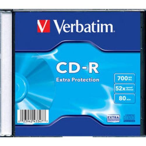 CDR Verbatim Doos  10 stuks